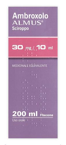 Ambroxolo Almus 30 Mg 10 Ml Sciroppo 1 Flacone Da 200 Ml
