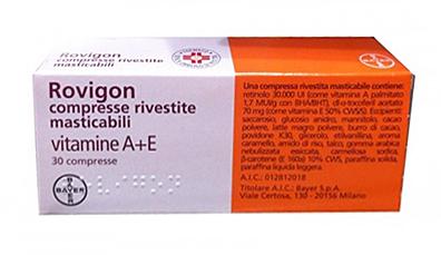 Rovigon Compresse Rivestite Masticabili 30 Compresse