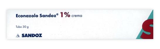 Econazolo Sand 1% Crema Tubo 30 G
