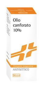 Canfora 10% Soluzione Cutanea 1 Flacone Da 100 G Di Soluzione Oleosa