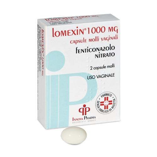 Lomexin 1.000 Mg Capsule Molli Vaginali 2 Capsule