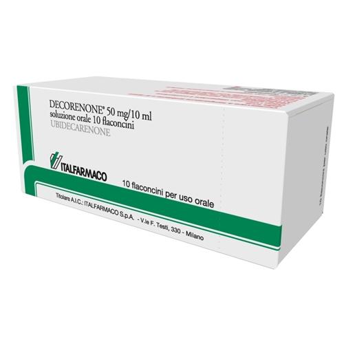 Decorenone 50 50 Mg Soluzione Orale 10 Flaconcini 10 Ml