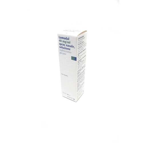 Lomudal 40 Mg Ml Spray Nasale  Soluzione 1 Flacone 30 Ml