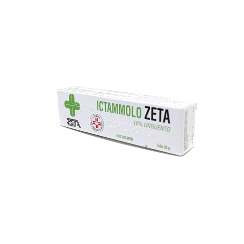 Ictammolo Zeta 10% Unguento Tubo 30 G