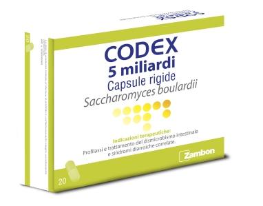 Codex 5 Miliardi Capsule Rigide Blister Da 20 Capsule