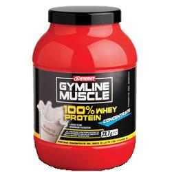 gymline muscle 100% whey protein concentrate gusto mandorla