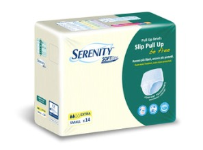 pannolone a mutandina serenity pull up be free sd extra large 14 pezzi