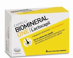 biomineal one lactocapil 30 + 10 compresse