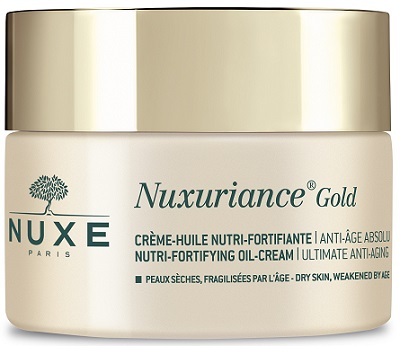 nuxe nuxuriance gold creme huile nutri fortifiante 50 ml