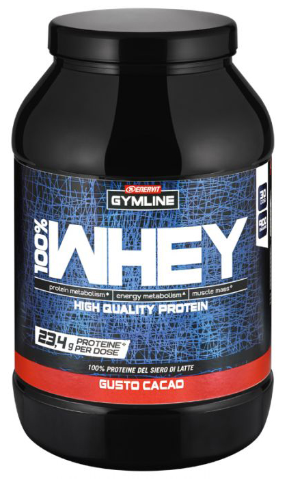 gymline 100% whey concentrate cacao 900 g