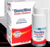 NeoBorocillina Gola Dolore 0.25 % 15 Ml Menta