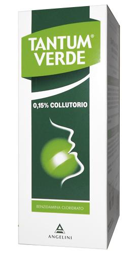 Tantum Verde Collutorio 0,15% Infiammazioni e Irritazioni 240 Ml