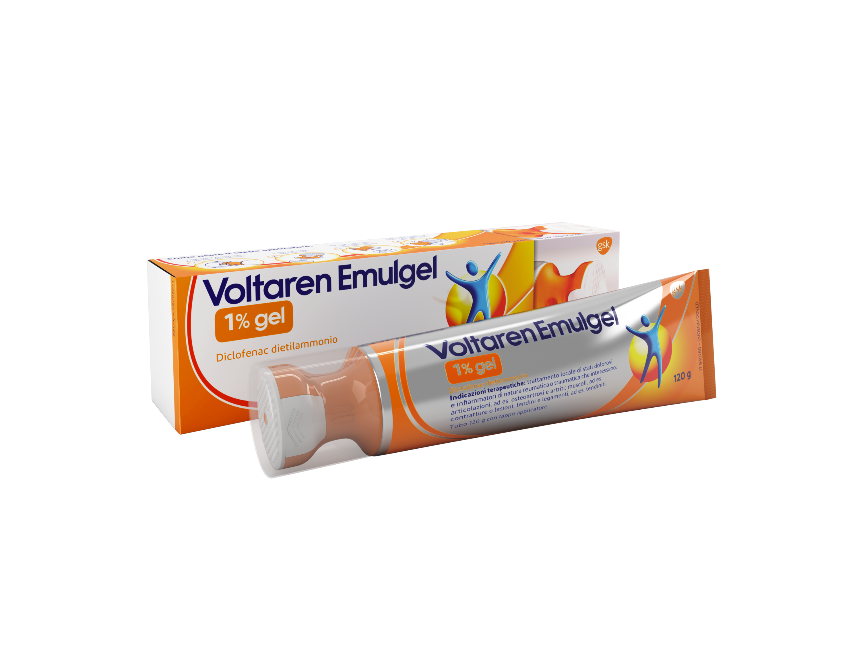 Voltaren 1% Gel Diclofenac 120 G