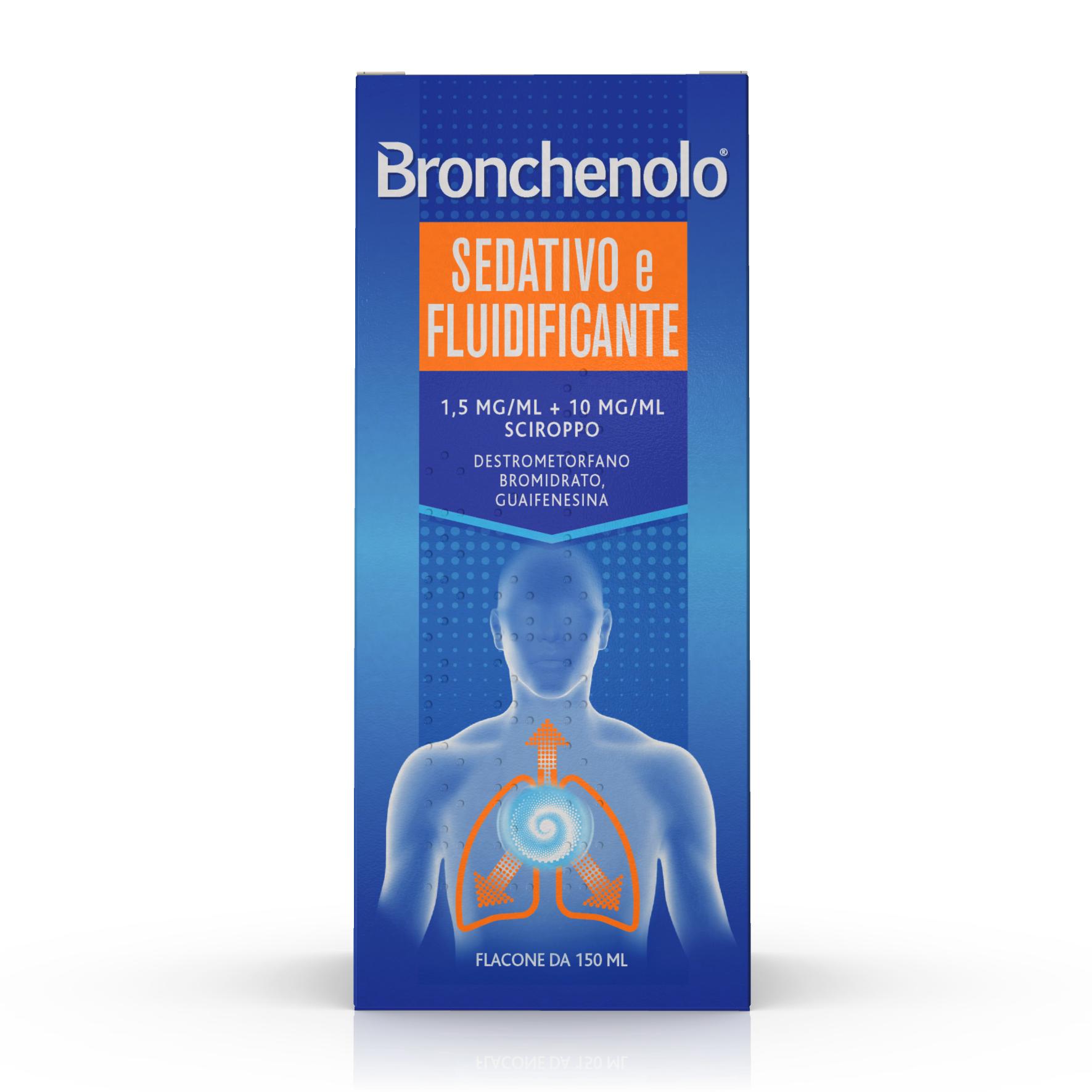 Bronchenolo Sciroppo Sedativo Fluidificante  150 Ml