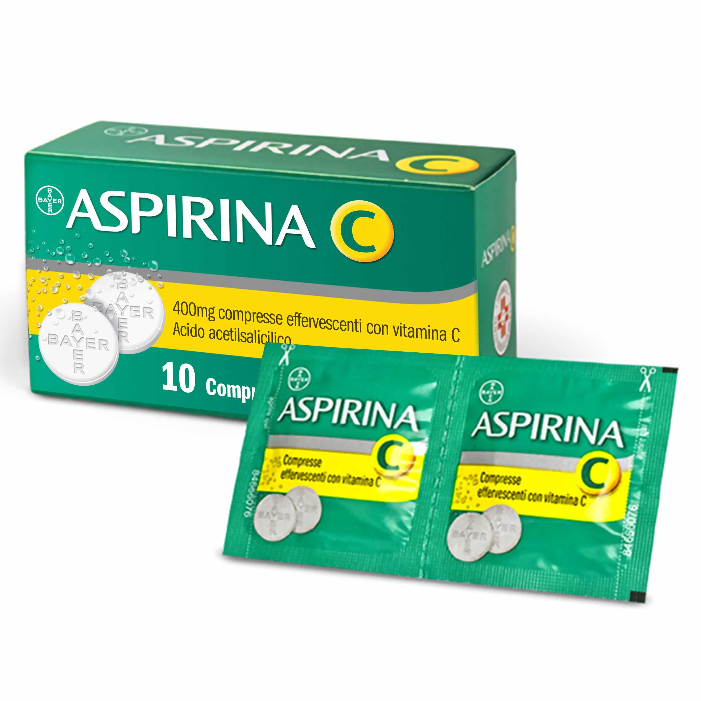 Aspirina C 400 Mg 10 Cpr Effervescenti