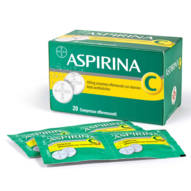 Aspirina C 400 Mg 20 Cpr Effervescenti