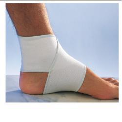 Scudotex Cavigliera Elastica Contenitiva Tallone Aperto Tg 2 (Circonferenza Caviglia 21-24Cm)