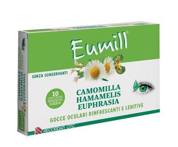 Eumill Camomilla Hamamelis Euphrasia 10 Flaconcini Monodose 0.5 Ml