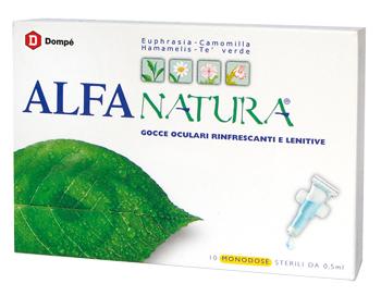 Alfa Natura 10 Flaconcini Monodose 0.5 Ml