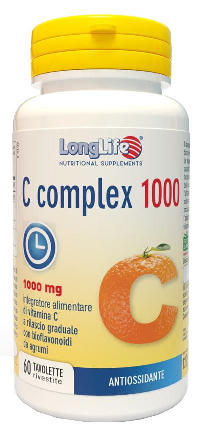 LongLife Vitamina C Complex 1000 60 Tavolette