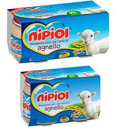 Nipiol Omogeneizzato Agnello 4X80G dai 4 Mesi