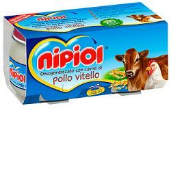 Nipiol Omogeneizzato Vitello/Pollo 4X80G dai 4 Mesi