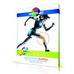 M-Aid Sport Ginocchiera Elastica Tg2 (Circonferenza Ginocchio 33-37Cm)