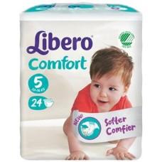 Libero Comfort Mis 5 10-16Kg 24Pz