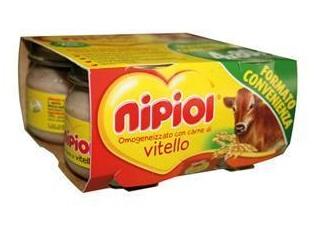Nipiol Omogeneizzato Vitello 4X80G dai 4 Mesi