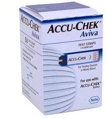 Accu-Chek Aviva 50 Strisce Test Glicemia
