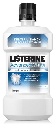 Listerine Collutorio Advance White Menta Pura 500 Ml