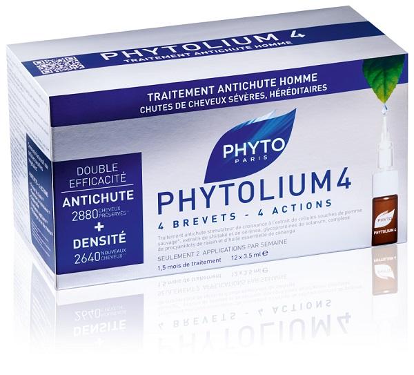 Phyto Phytolium4 Trattamento Intensivo Caduta Uomo 12 Fl 3.5 Ml