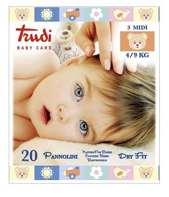 Trudy Baby Care Mis 3 Midi 4-9Kg 20Pz
