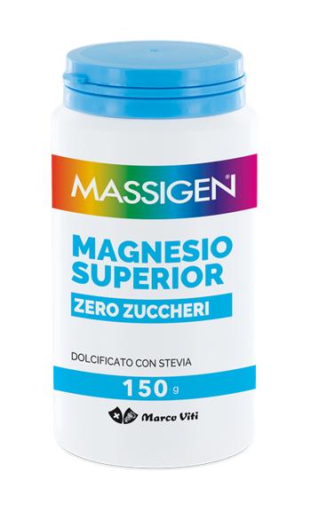 Massigen Magnesio Superior Senza Zuccheri 150 G