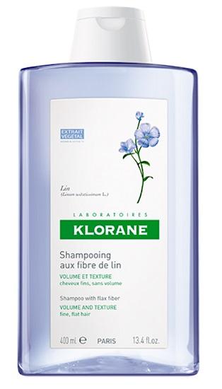 Klorane linea Shampoo Fibre di Lino 400 Ml