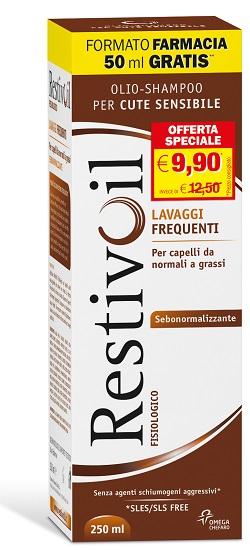 Restivoil Sebo Normalizzante Capelli Normali e Grassi 250 Ml