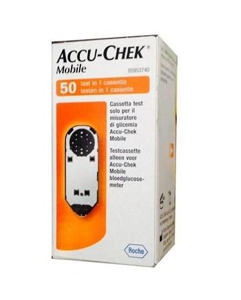 Accu-Chek Mobile 50 Test Glicemia