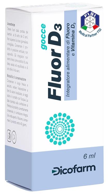 Fluor D3 Gocce 6 Ml