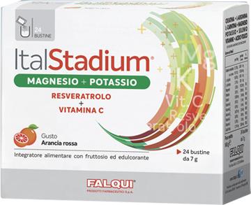 Italstadium Magnesio Potassio Vitamina C 24 Bustine