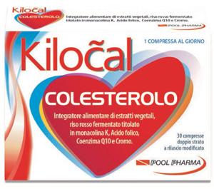 Kilocal Colesterolo 30Cpr