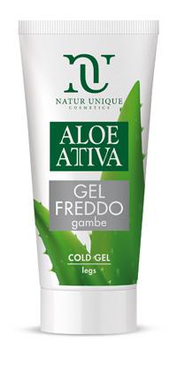Aloe Attiva Gel Freddo Gambe 100 Ml