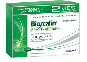 Bioscalin Anticaduta Physiogenina Trattamento Completo 2 Mesi  60 Cpr