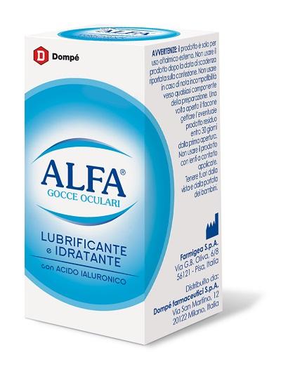 Alfa Collirio Lubrificante Idratante Flacone 10Ml