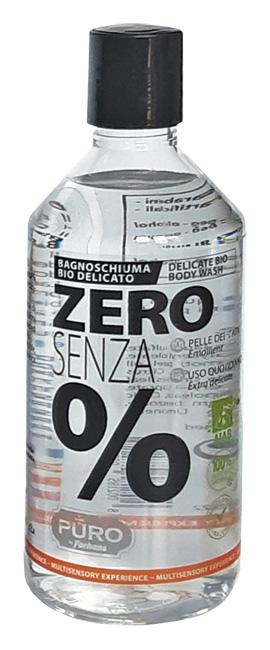 Puro Zero Senza % Bagnoschiuma Bio Extra Delicato 500 Ml