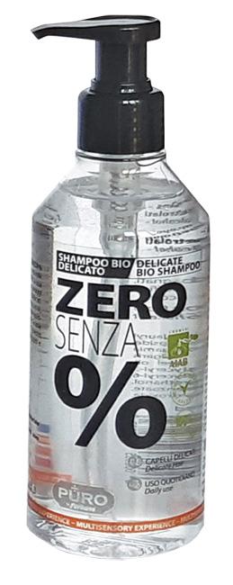 Puro Zero Senza % Shampoo Bio Extra Delicato 250 Ml