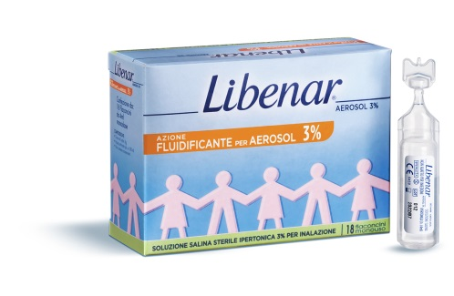 Libenar Soluzione Salina Ipertonica 18 Flaconcini 4 Ml