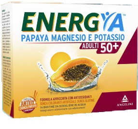 Energya Papaya Magnesio Potassio 50+ Adulti 14 Bustine