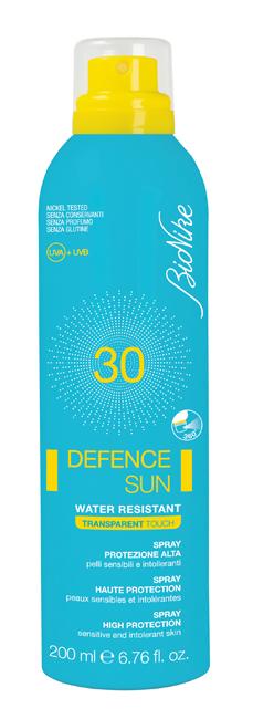 Bionike Defence Sun Spf 30 Spray Trasparente 200 Ml