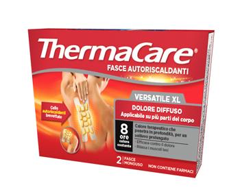 Thermacare Fasce Autoriscaldanti Versatile Xl Dolore Diffuso 2 Pz