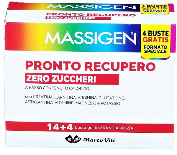 Massigen Pronto Recupero Zero Zuccheri 14 + 4 Bust